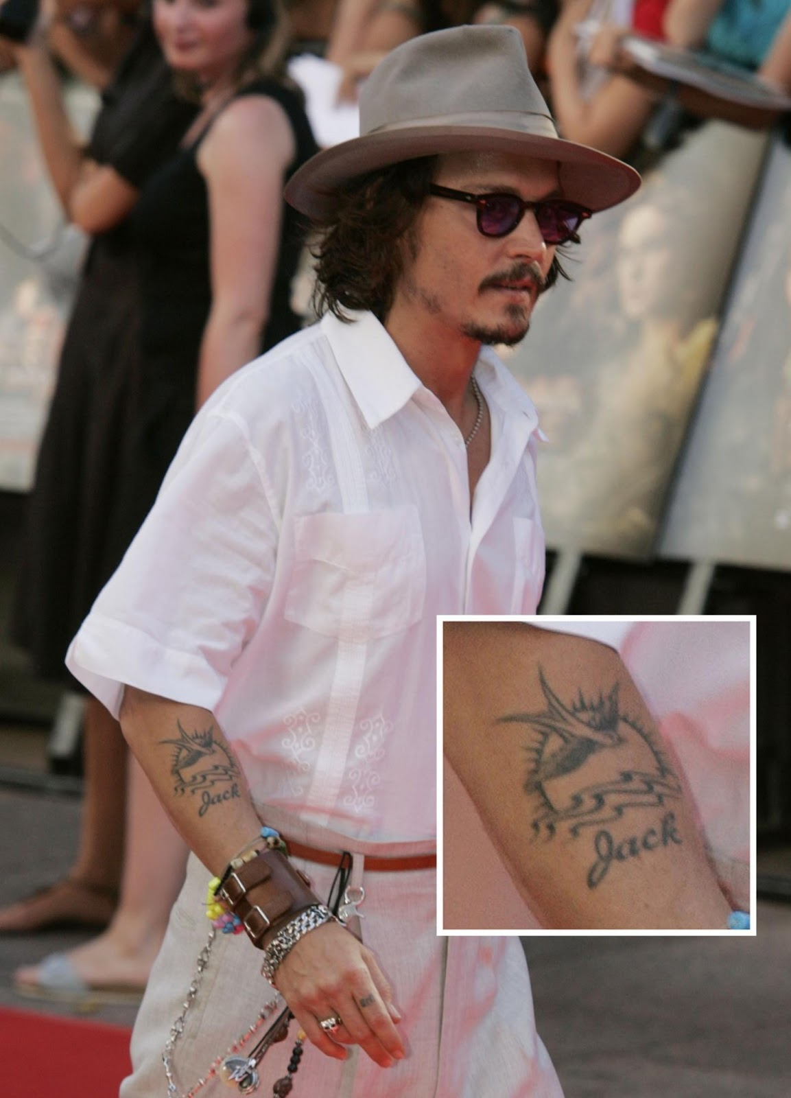 The Meaning Of Johhny Depp's Arm Tattoo