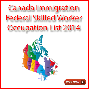 Canada New Occupation List 2014