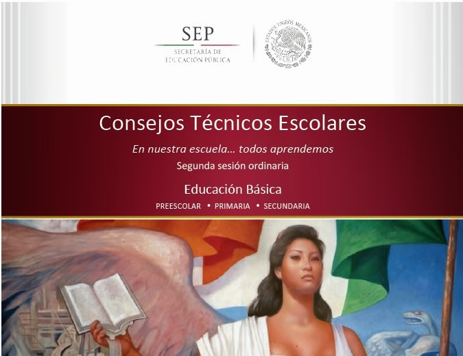 CONSEJOS TÉCNICOS ESCOLARES (SEGUNDA SESIÓN ORDINARIA)
