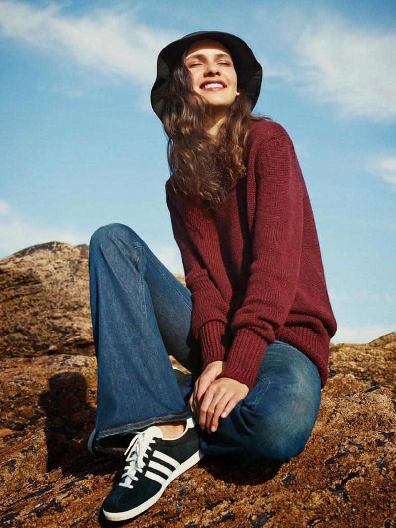 Sea Story: Iana Godnia By Ben Weller For Uk Harper's Bazaar October 2014