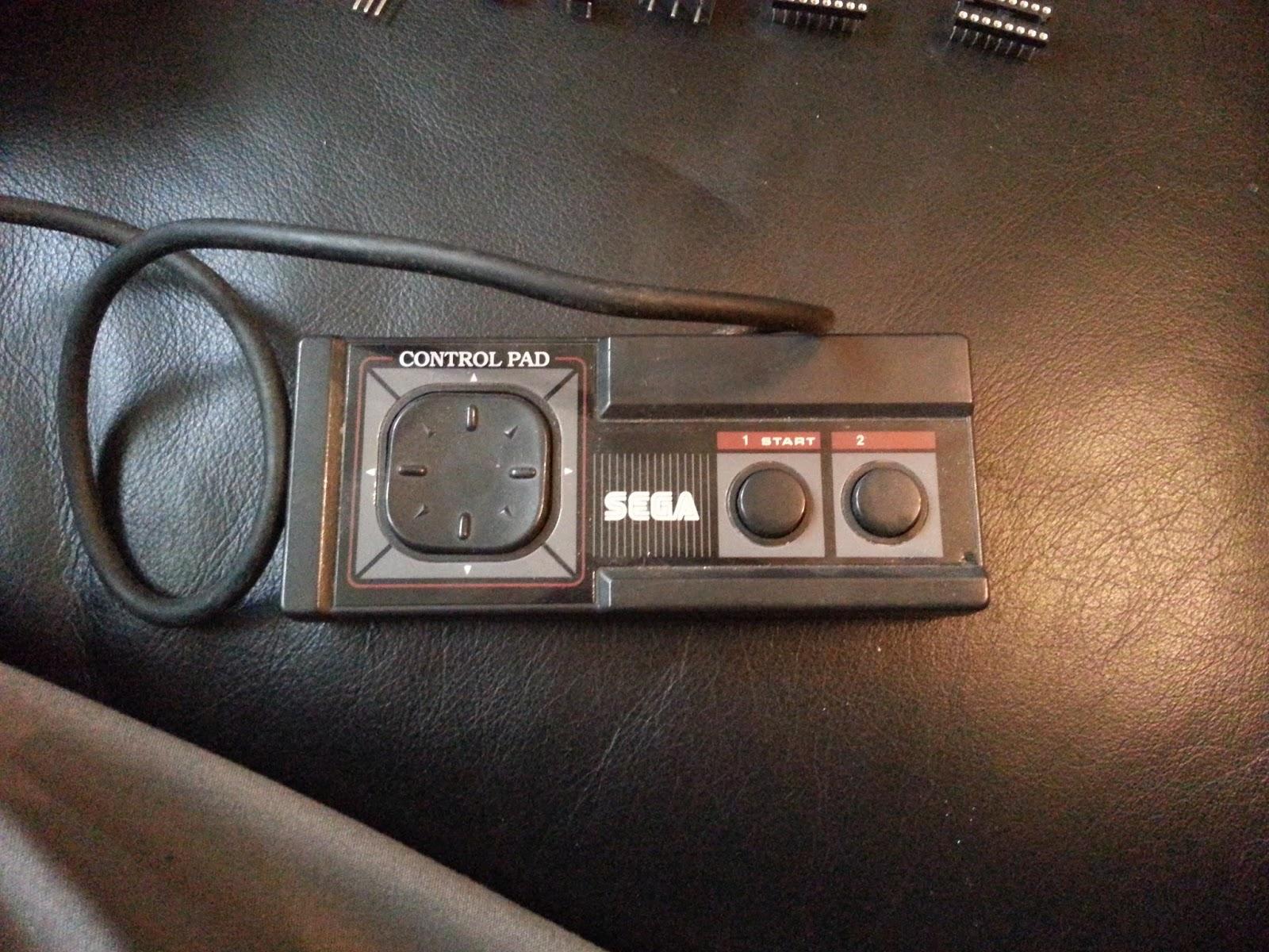 Original Sega Master System controller.