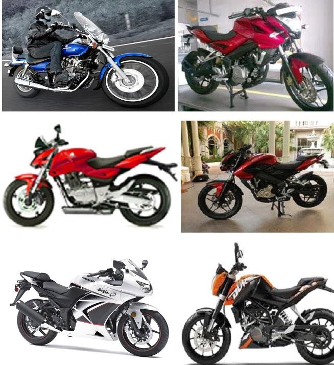 Bajaj Bikes Pictures