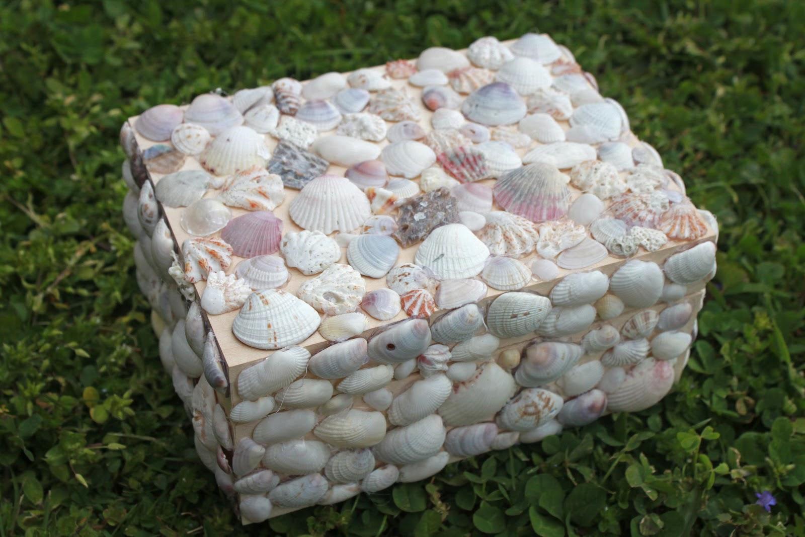Mandie Starkey diy seashell jewelry box