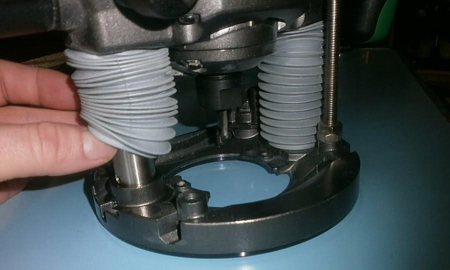 Hitachi M 8V2 защита от пыли