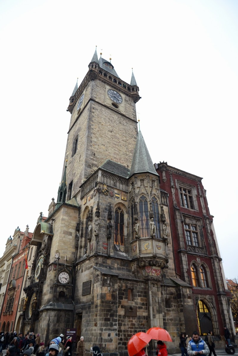 Old city hall of prague