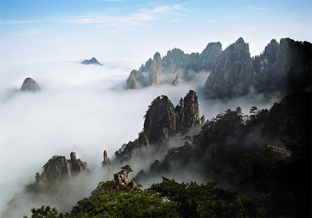 "Huangshan, or ""Yellow Mountains"""