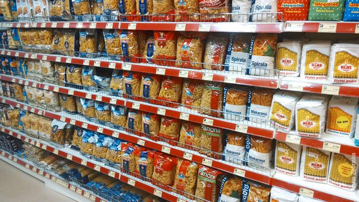 Бакалея в супермаркете «Voli»