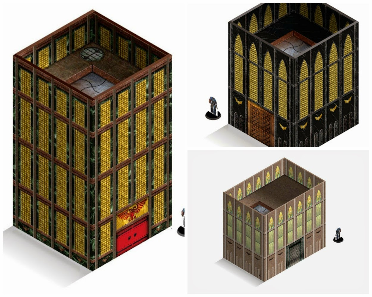 Free \'Print & Play\' 40k building templates - Faeit 212: Community News