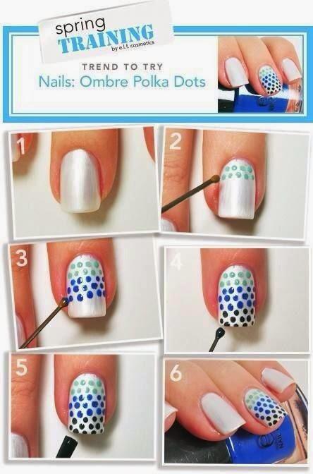 Как сделать себе красивый узор на ногти