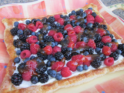 Cooking on the Front Burner: Fresh Fruit Tart