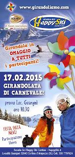 Girandolata di Carnevale, Cortina