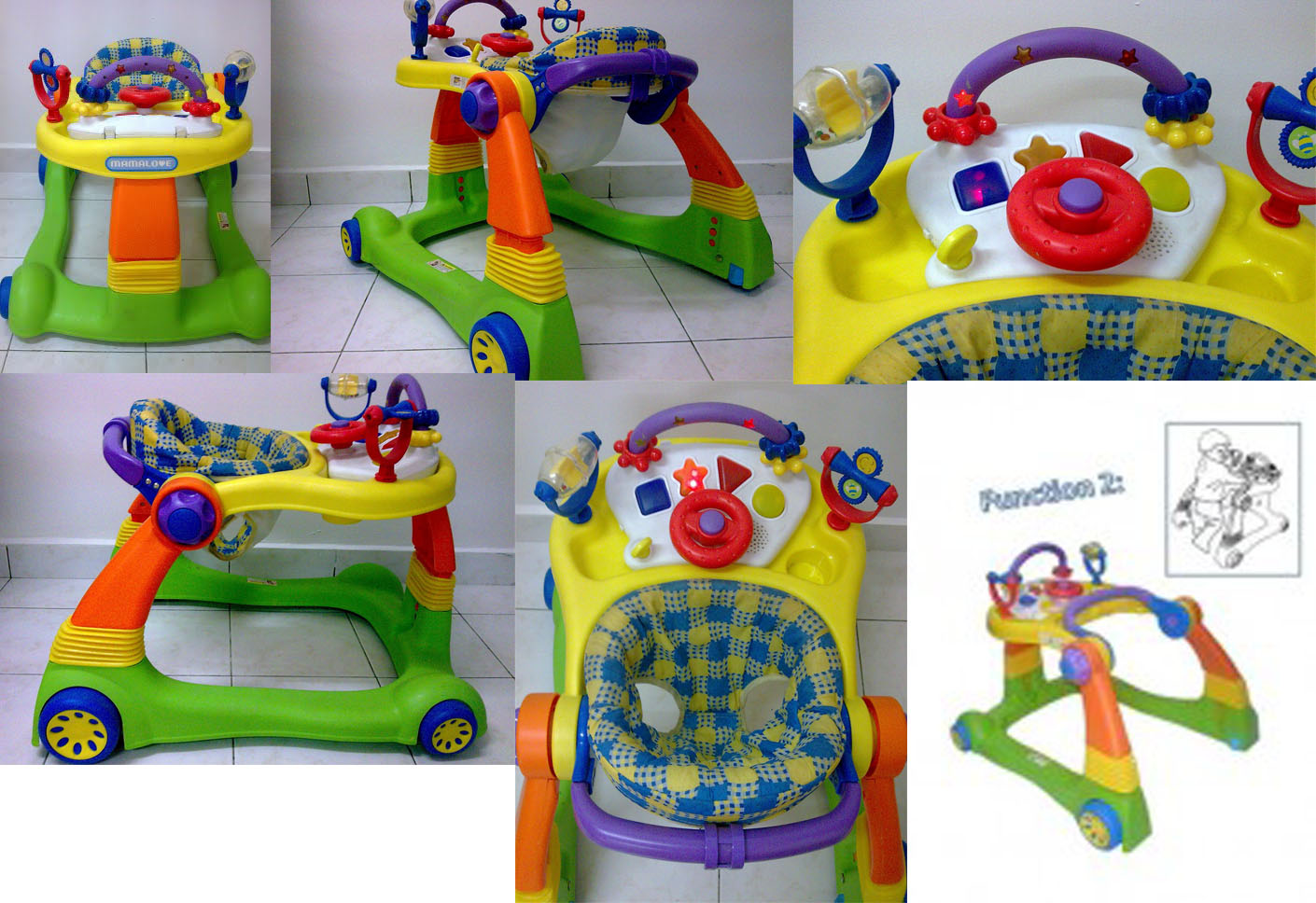 SOLD OUT-----Sale 2nd : Baby Walker MamaLove 2 In 1 Good