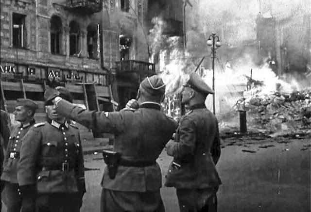 1941 год, Киев, Крещатик,