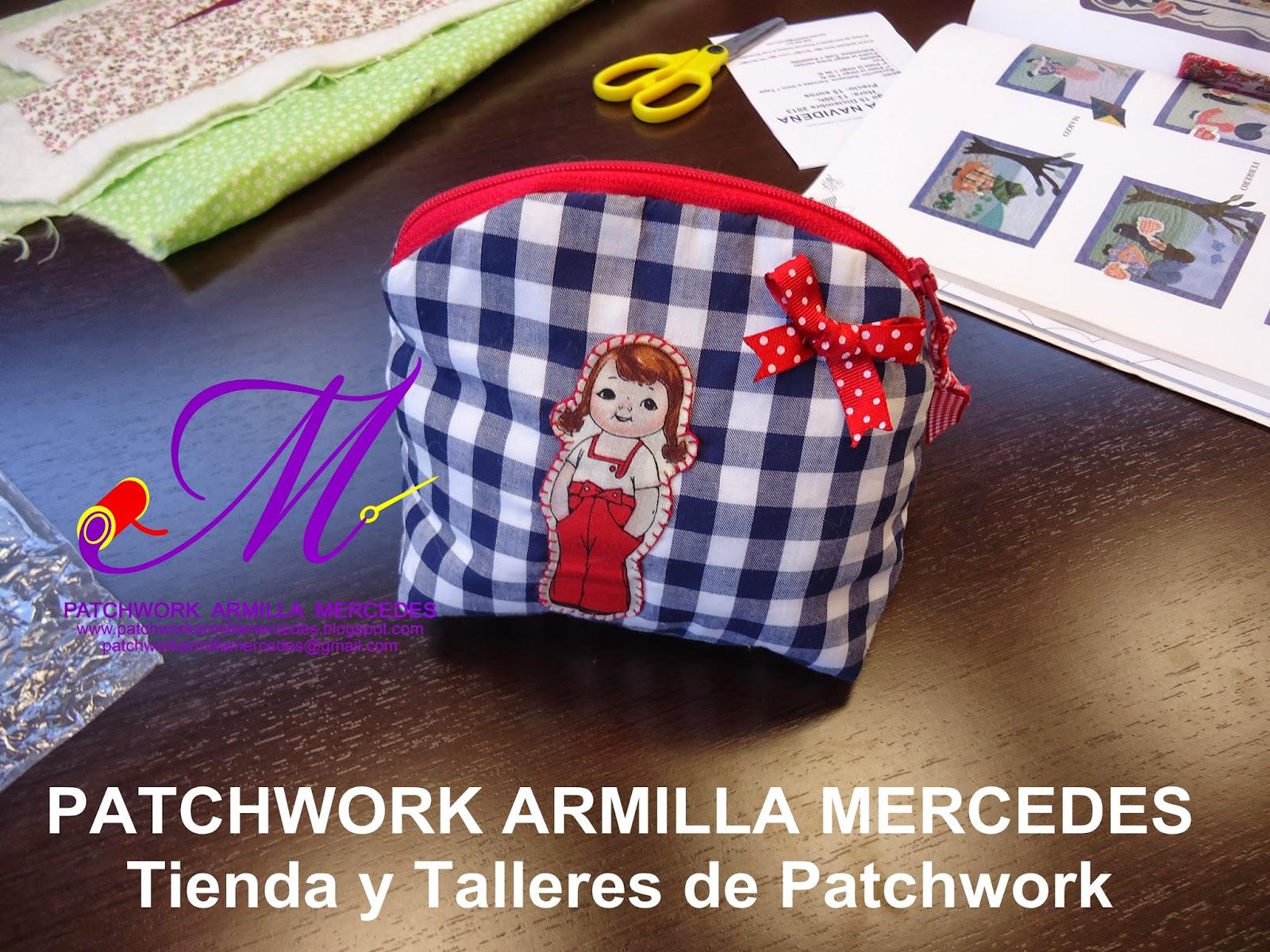 Patchwork armilla mercedes s l fotos de los talleres de for Fotos de patchwork