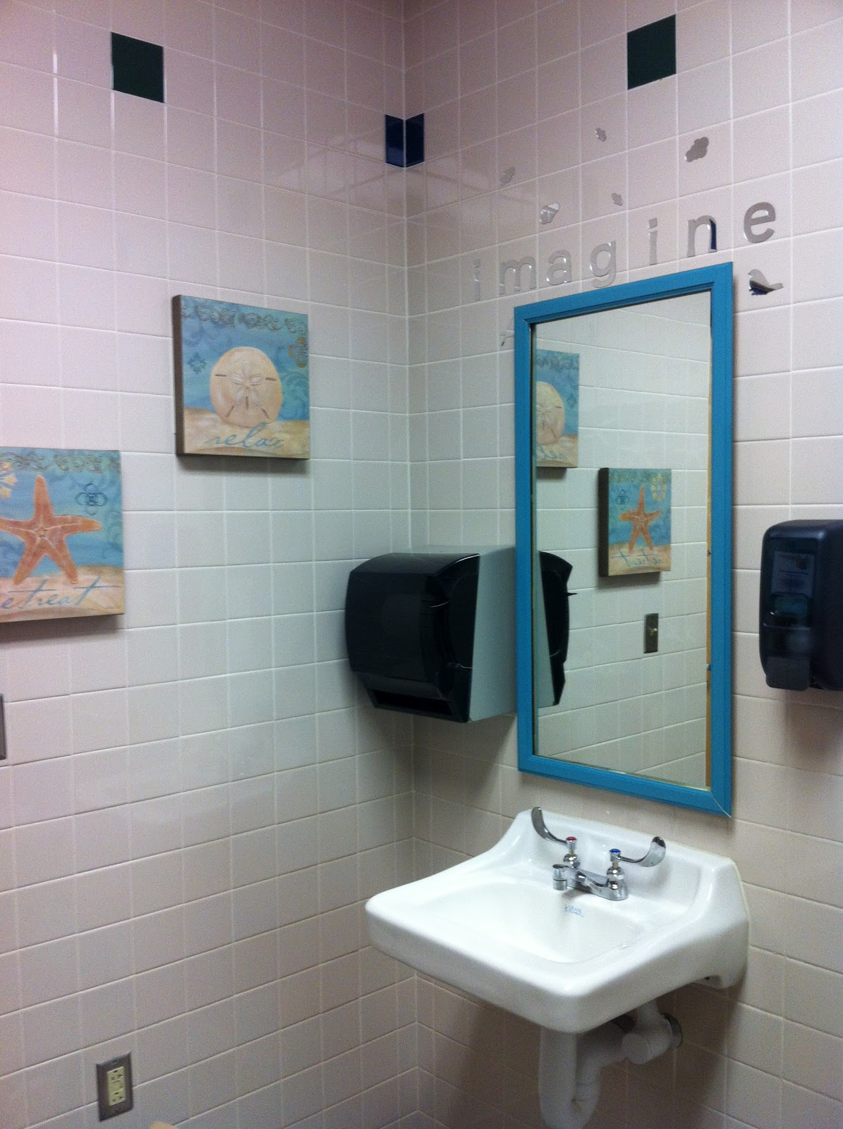 Rulers and recess redecorating teacher bathrooms for Redecorating a small bathroom