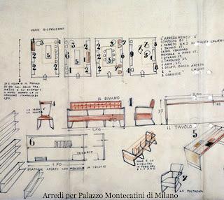 Cecilia polidori twice design 5 l 39 universo di gio ponti - Gio ponti mobili ...