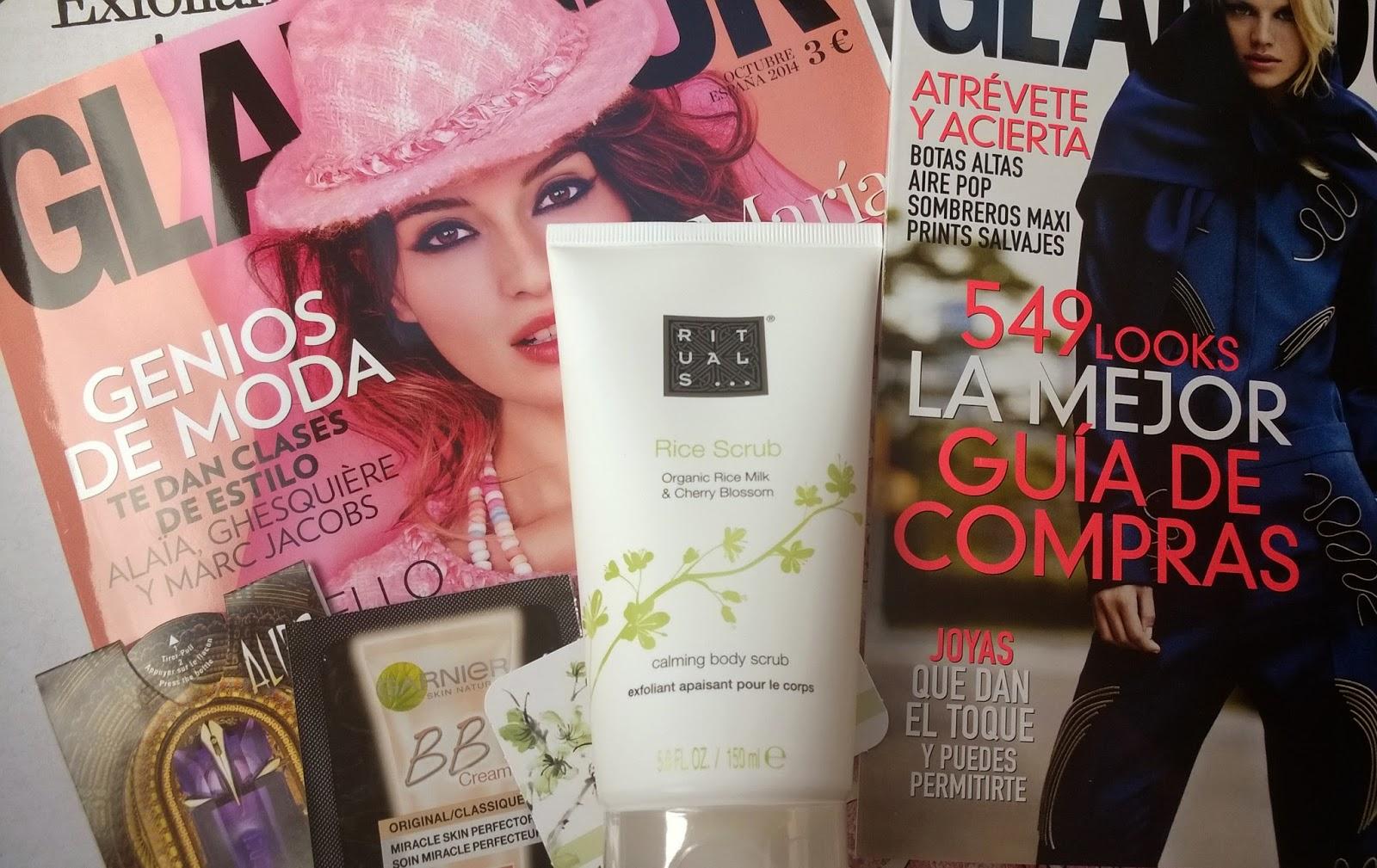rituals Revista Glamour Octubre 2014