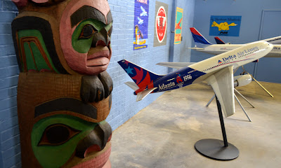 The Delta Heritage Museum, Hangar 1, Chilkoot Totem Pole