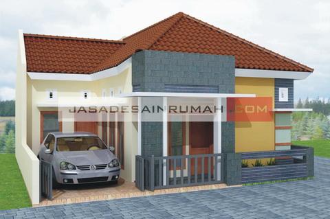 Rumah Minimalis Sederhana Lokasi di Pojok