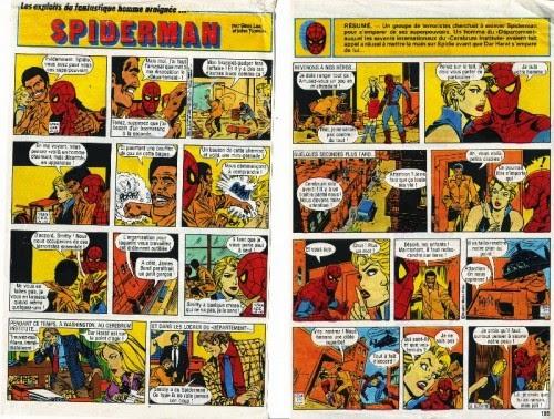 """Résultat de recherche d'images pour """"spider-man bd télé poche"""""""