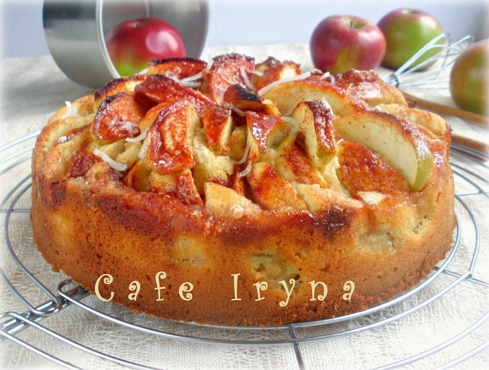пирог от бабушки эммы с яблоками рецепт