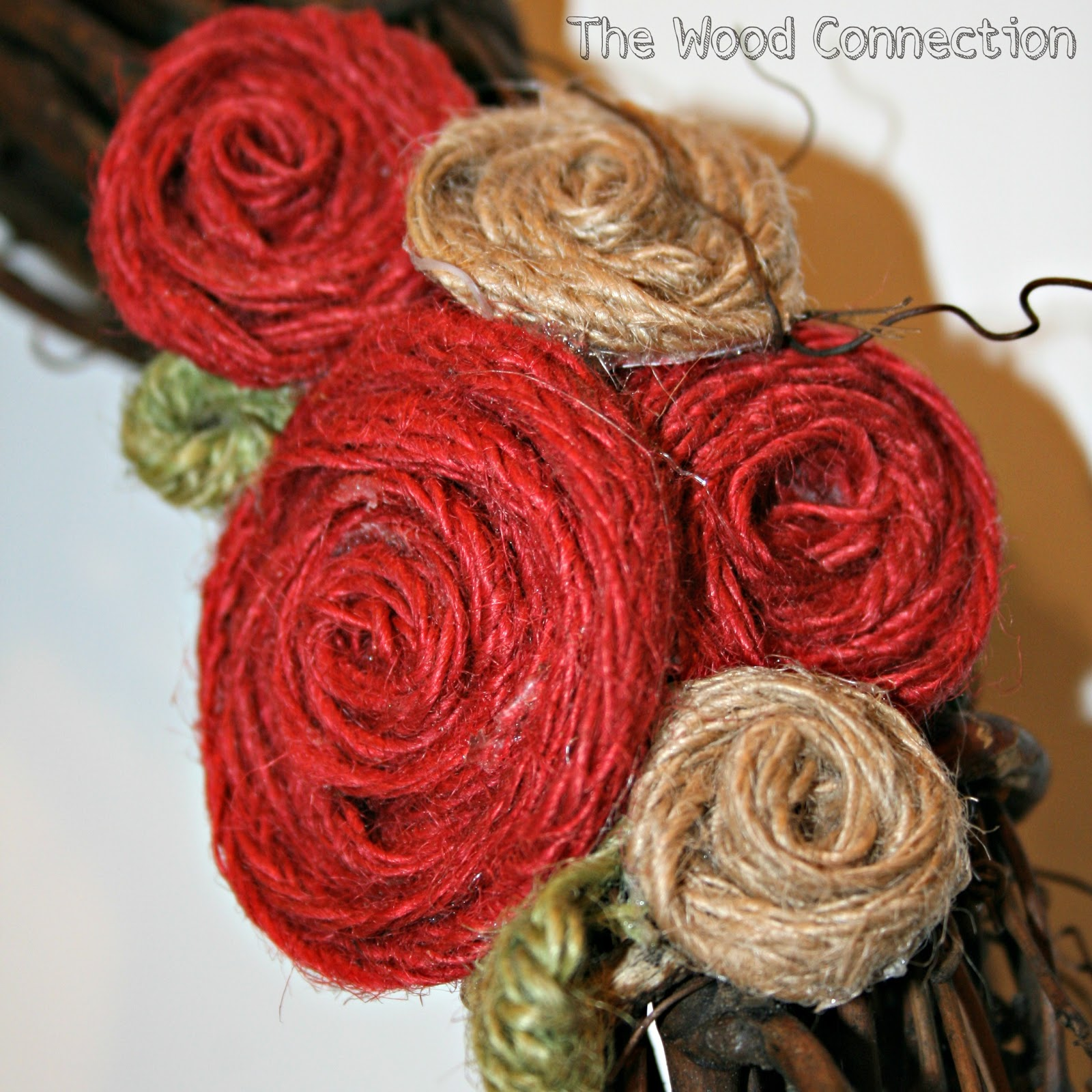 Tutorial Tuesday Burlap Flower The Wood Connection Blog