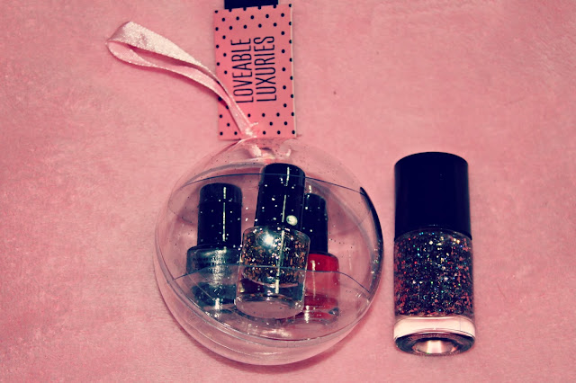 Beauty Bloggers Secret Santa Nail Polish