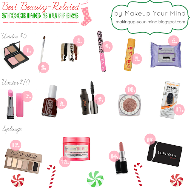 The Best Beauty-Related Stocking Stuffers!