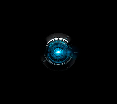 HTC Droid DNA Blue Wallpaper