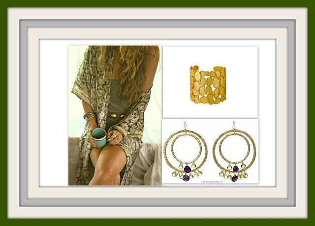 summer jewelry, summer jewellery, gemstones, cuffs, hoop earrings, gold