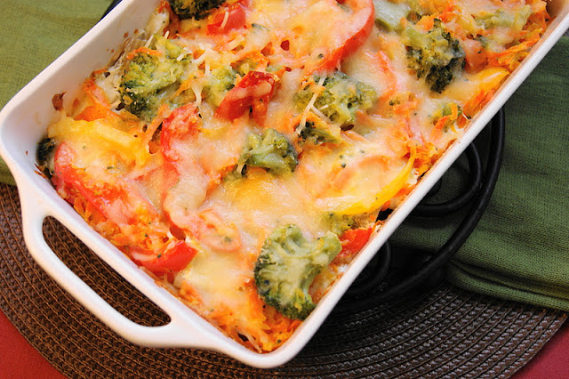 the kitchen is my playground bell pepper broccoli vegetable lasagna. Black Bedroom Furniture Sets. Home Design Ideas