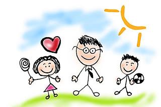 dibujo infantil de papa