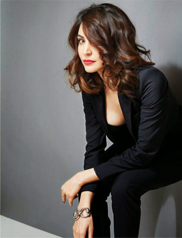 Anushka Sharma‬ on cover page of Filmfare India ‪Magazine‬ March 2015