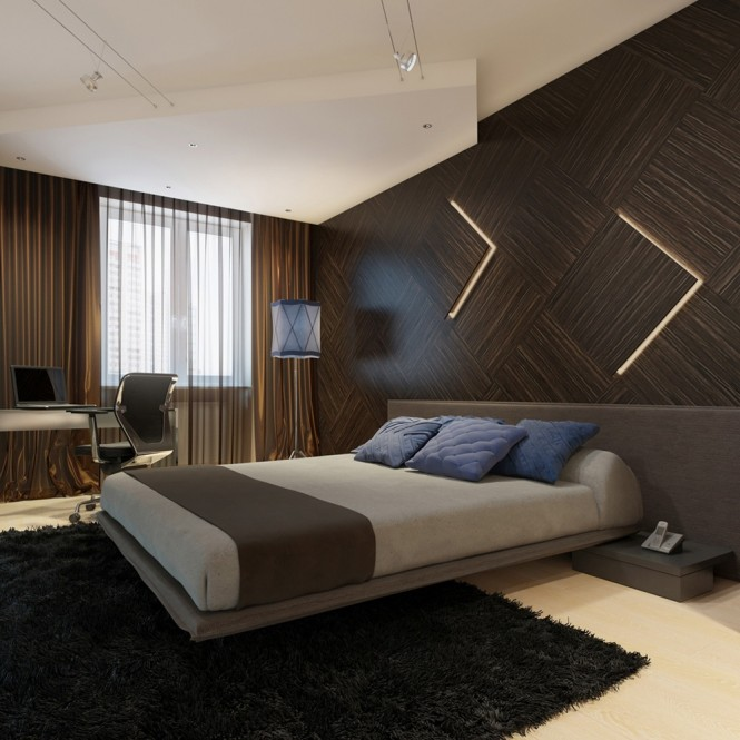 ديكورات حوائط غرف النوم بطريقة فريدة | جمــــــال بــيــتـــــــك