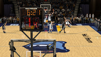 NBA 2K13 Memphis Grizzlies Court Patch