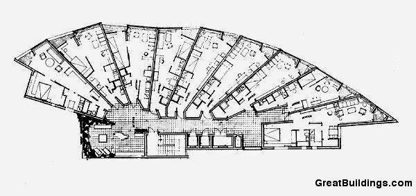 Prancheta De Arquiteto Proj Ed Residencial Neue Vahr Bremen