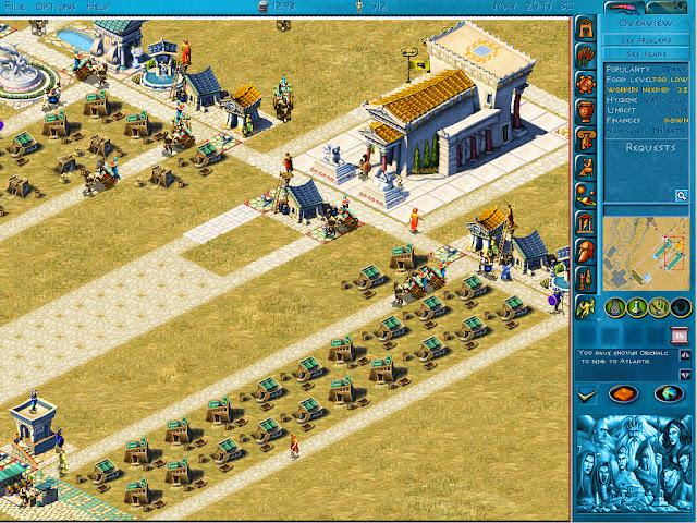 Poseidon: Master of Atlantis - Best City Foundation Screenshot