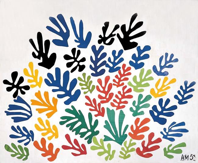 Matisse, La Gerbe, 1953