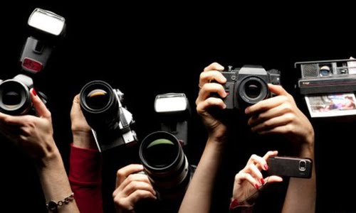 photographer cameras