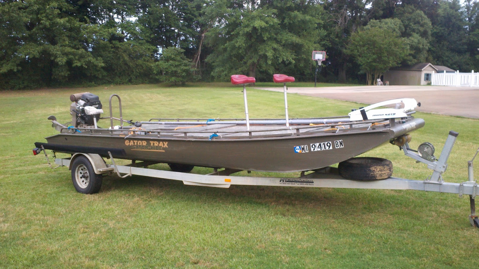 North mississippi bowfishing for Bow fishing boats