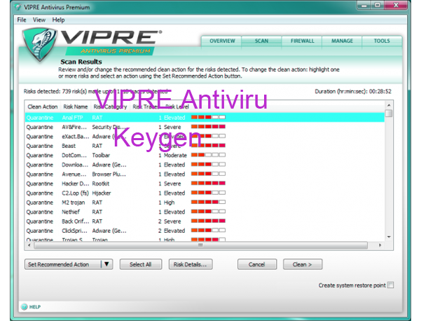 VIPRE Internet Security 2015 Keygen Portable License Serial Download