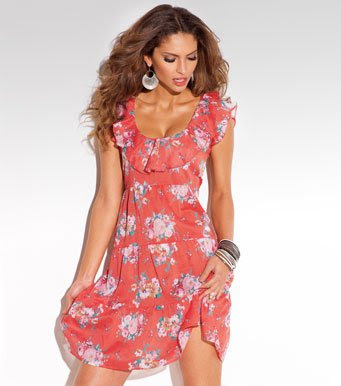 Lastest Free Shipping Women Casual Dresses Lady Summer Dress Plus Size New