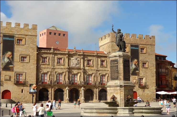 popular Virgen baile cerca de Gijón