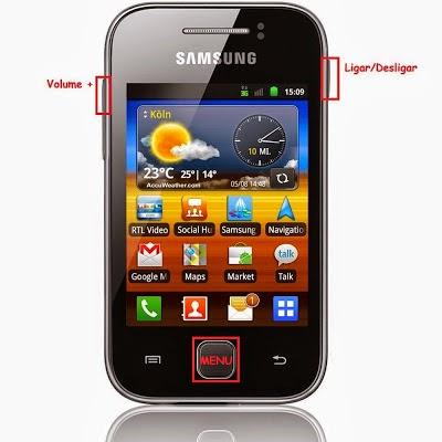 Hard Reset Samsung Galaxy Y