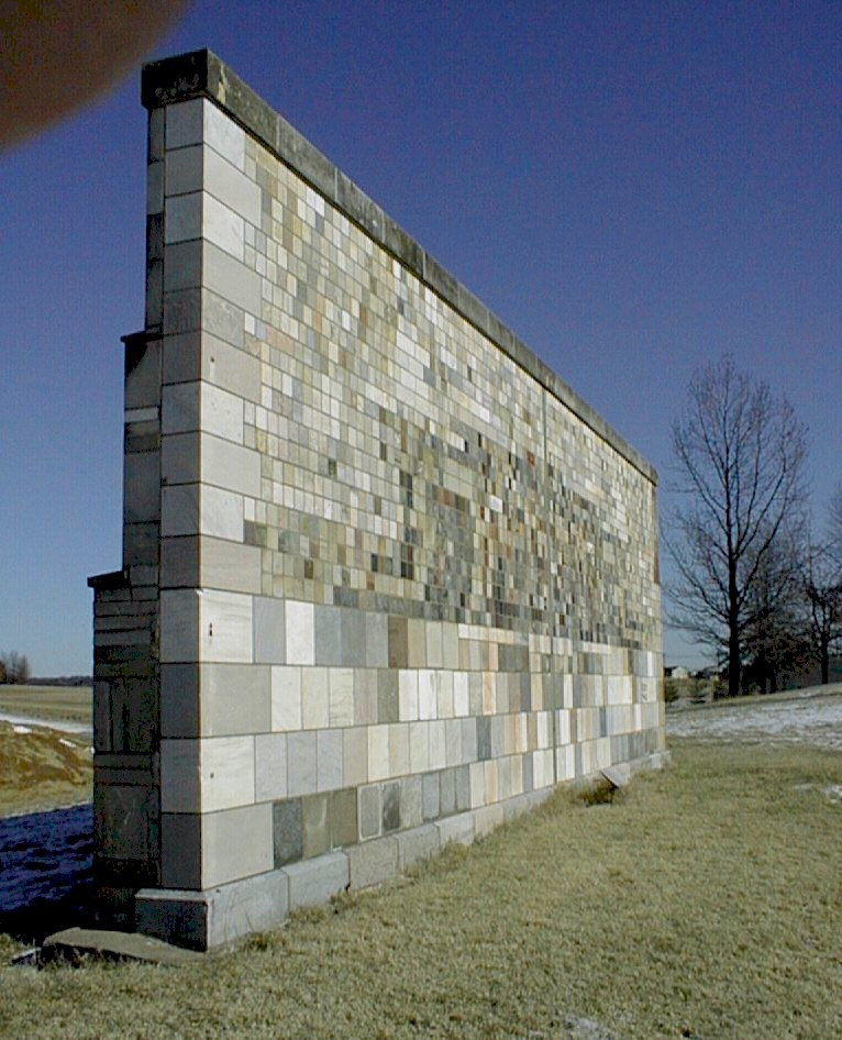 Nist Stone Test Wall : Post walls