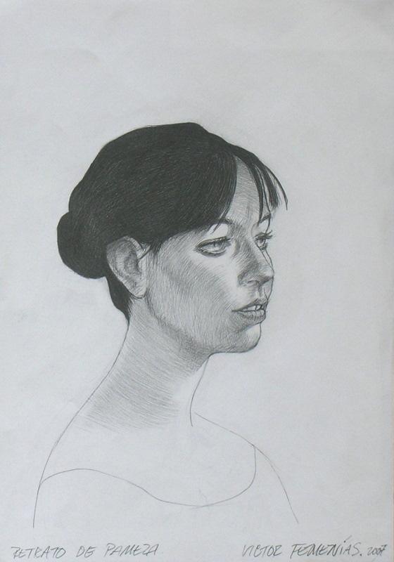 Retrato de Pamela