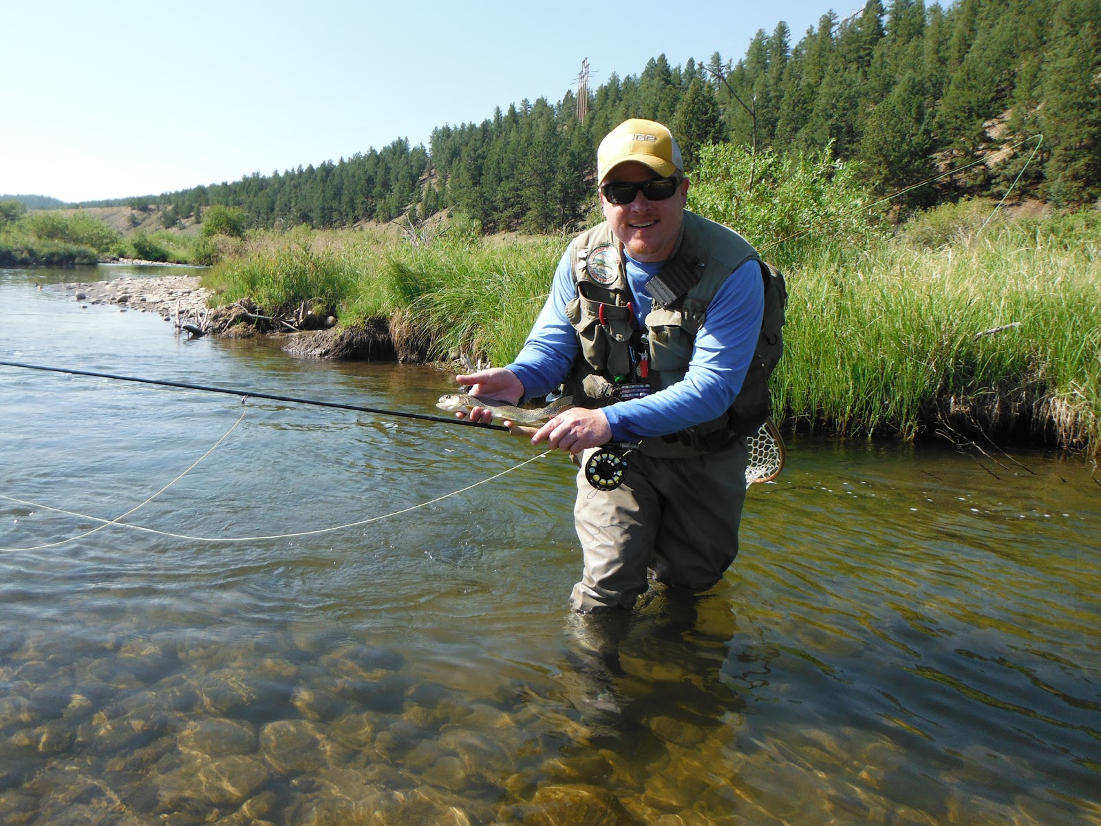 Jamie 39 s fly fishing journal middle fork tomahawk for Fly fishing journal