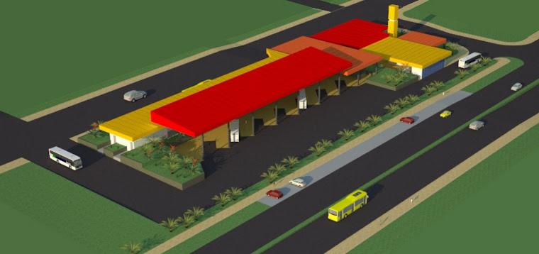 palladini arquitetura & cia proj terminal rodoviario