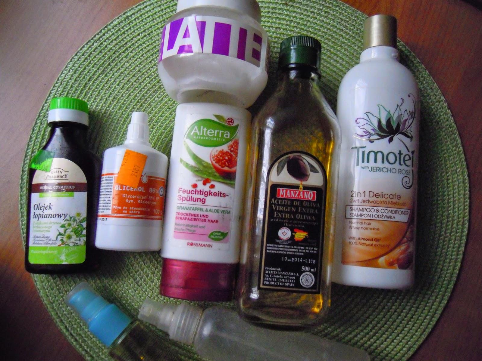 Bogata niedziela dla włosów 5.10.14 humekanty-emolienty-proteiny
