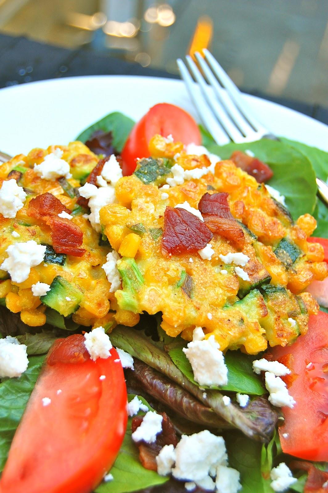 La Petite Maison Verte: Mixed Green Salad with Sweet Corn ...